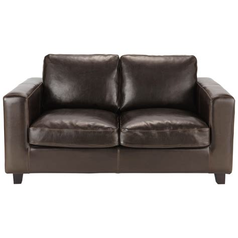 what is split leather sofa 2 seater split leather sofa in brown kennedy maisons du