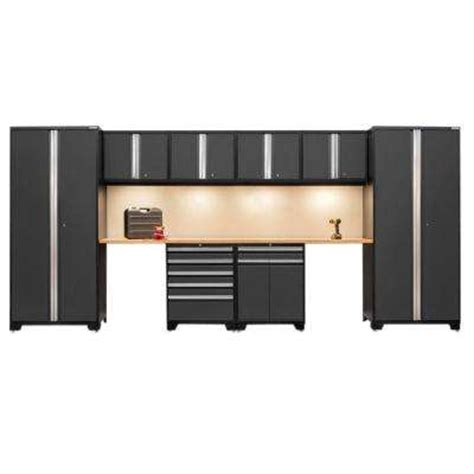 Garage Storage Cabinet System Mega Pro 3 Series Garage Storage Systems Garage Cabinets Storage Systems The Home Depot