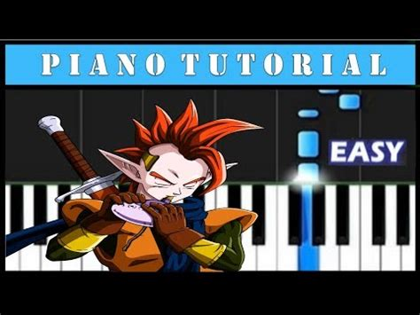tutorial piano dragon ball z dragon ball z el sacrificio de vegeta piano tutorial