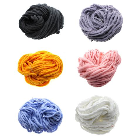 knitting thick yarn thick yarn knitting high grade thick wool yarn