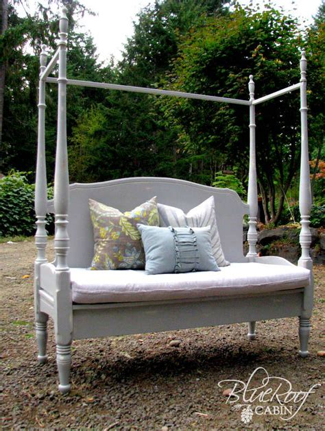 bed headboard bench remodelaholic 25 headboard benches how to make your own