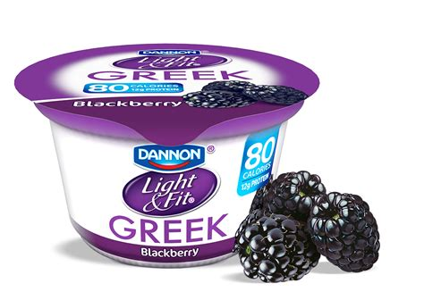 greek light and fit blackberry greek yogurt light fit 174