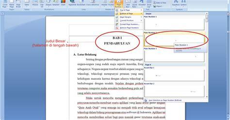 format layout makalah membuat halaman makalah aku kasih tahu