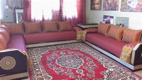 decoration maison marocaine salon moderne marocain ciabiz