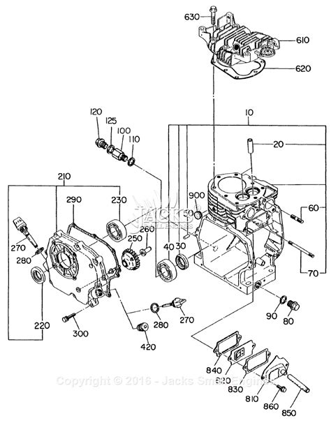 subaru engine diagram robin subaru ey20 parts diagram for crankcase