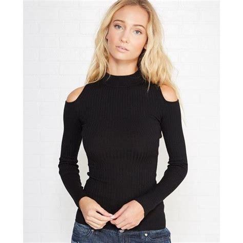 Cutout Shoulder Sleeve Top 26 best turtleneck cold shoulder images on