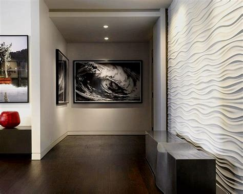 interior design on wall at home contemporary wall panels simple home decoration