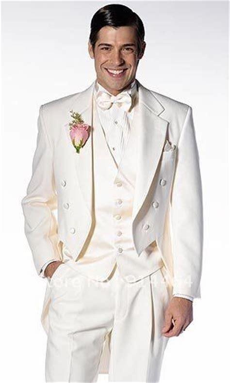 best selling ivory unique modern worsted wedding tuxedo