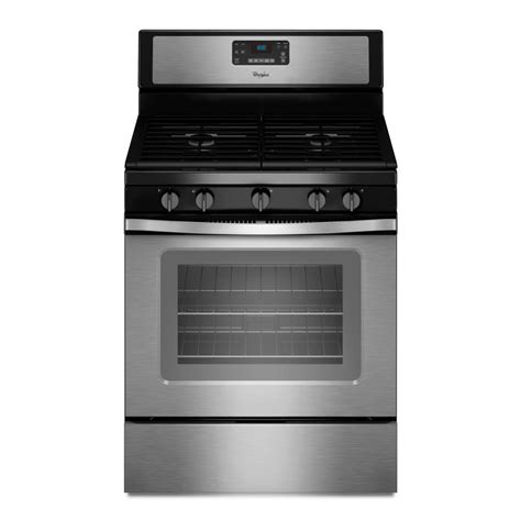 whirlpool gas range reviews whirlpool 30 in 5 0 cu ft gas range with self cleaning