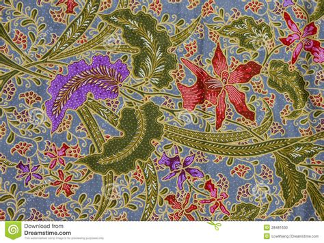 pattern batik indonesia batik pattern indonesia stock photo image 28481630