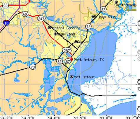 port arthur texas map opinions on port arthur texas