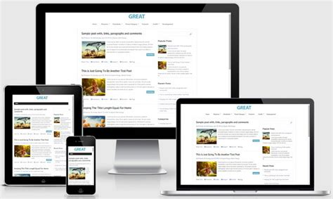 great templates for blogger great blogger template newbloggerthemes com