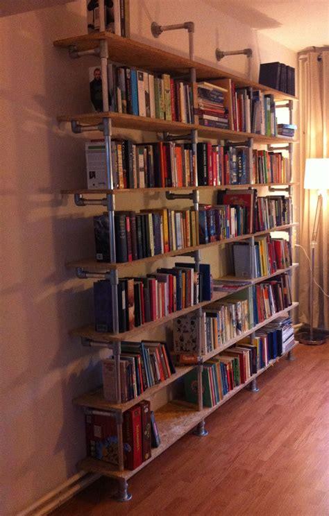 book shelf for room diy bookshelf for new library room industrial pipe shelves library room