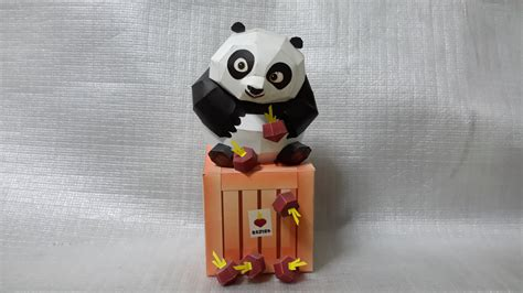 Papercraft Panda - kung fu panda 2 papercraft by mironius on deviantart