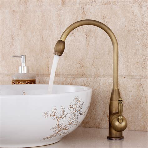 antique kitchen sink faucets 2016 lanos bathroom faucet copper single hole basin wash