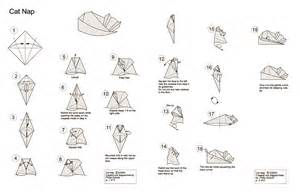 How To Make A Paper Cat Step By Step - 1000 images about origami on origami cat