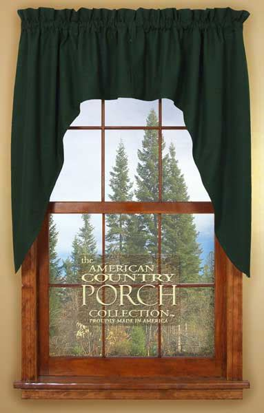 green swag curtains solid green window curtain swags
