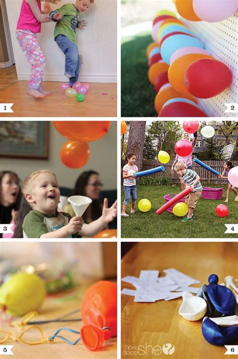 birthday themes games balloon party game ideas chickabug