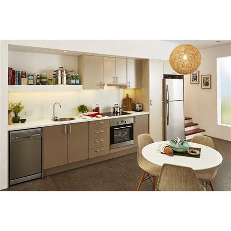 Kitchen Cupboards Bunnings - kaboodle chocanilla base and mocha glaze top