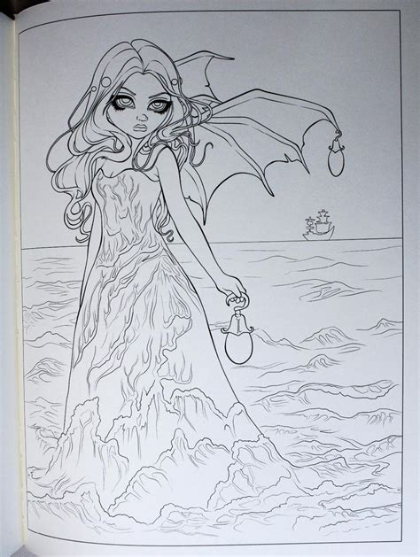 jasmine becket griffith coloring book 17 best images about vire coloring on dovers jasmine and coloring pages
