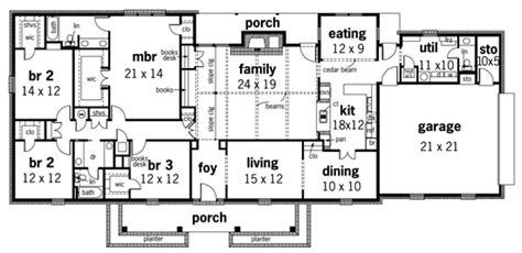 2700 Sq Ft House Plans Godfrey Court 2700 3597 4 Bedrooms And 2 Baths The House Designers