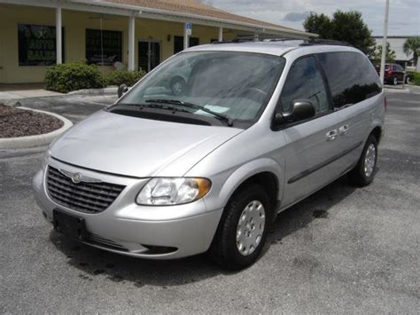 2003 Chrysler Minivan 2003 chrysler voyager lx value 4dr minivan in hill