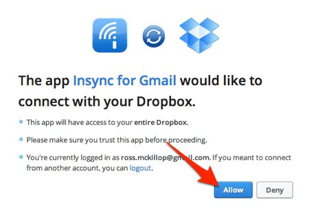 dropbox login with gmail how to instantly save gmail attachments to dropbox