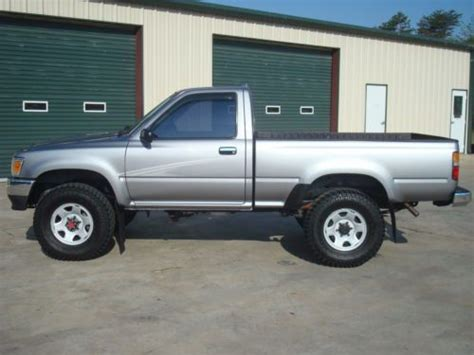 1994 Toyota 4x4 For Sale Sell Used 1994 Toyota Tacoma 4x4 Regular Cab 4 Cylinder 5