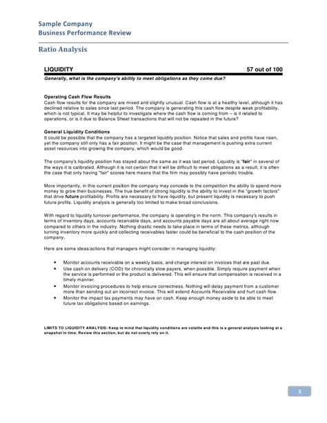 13 board report templates free sample example format download
