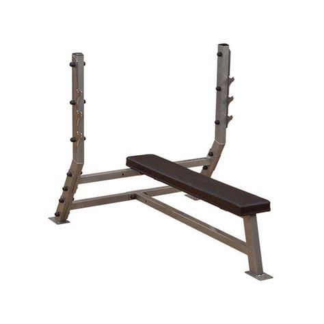 body solid olympic bench body solid sfb349g pro club flat olympic bench