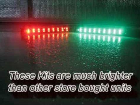 navigation lights on boat not working signal 9 cel custom built led light bars marine navigation