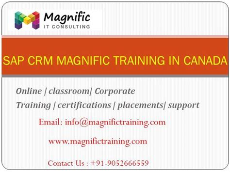 sap crm tutorial pdf sap customer relationship management training authorstream