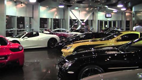Dubai Supercar Showroom   Which one would you choose