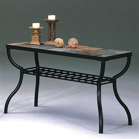 Slate Sofa Table by Slate Sofa Table World Imports Furniture Cart