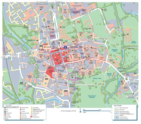 city map oxford city map oxford mappery