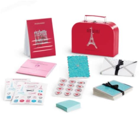 Finite Stationery Set In Tin Pencil Fancy Stationery Set parisian stationery sets stationery set