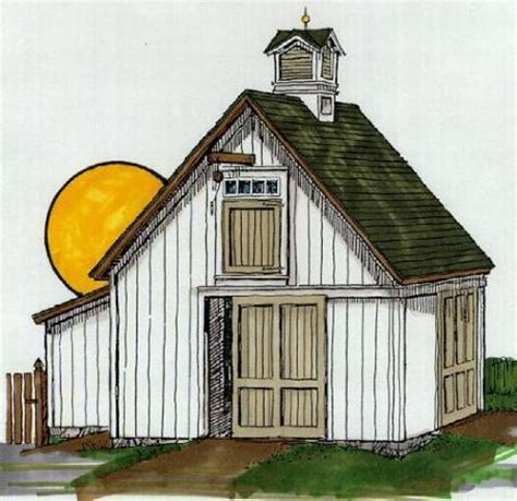 small barn plans with loft building my small barn thinman s