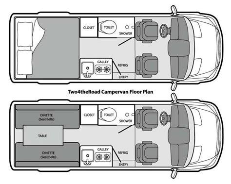 conversion van floor plans sprinter rv conversion plans html autos post