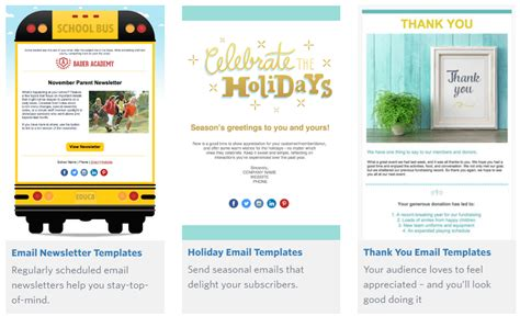 Mailchimp Alternatives Who S The Best Best Constant Contact Templates