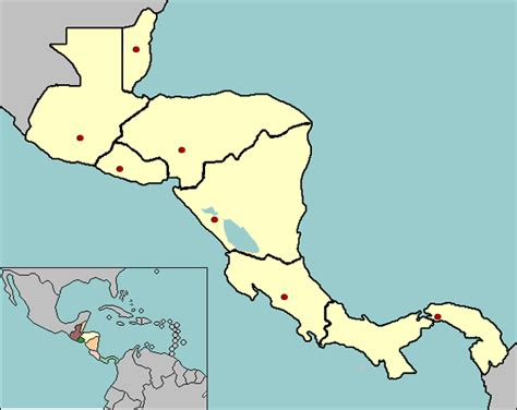 america map quiz with capitals central america map quiz map2