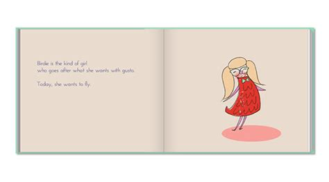 picture book exles custom childrens book birdlie learns to fly
