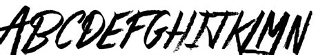 Rage Capital Free Rage Italic Plain Font Whatfontis
