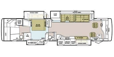 phaeton qbh floor plan specs for 2011 tiffin phaeton 40 qbh powerglide rvs