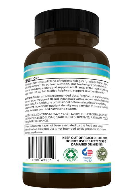 Brown Algae Detox by Buy Seatrition 855 893 4320 12 Sea Plants