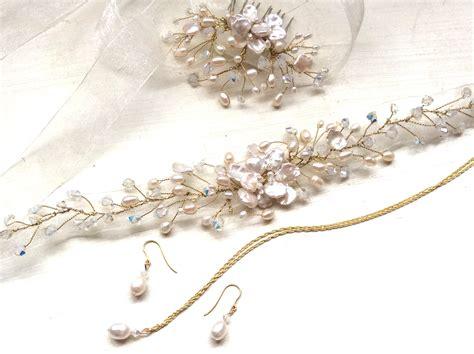 Wedding Hair Accessories Kent by Bridal Hair Accessories Wedding Hairvines Handmade