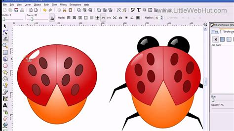 inkscape tutorial insect inkscape tutorial clip art youtube