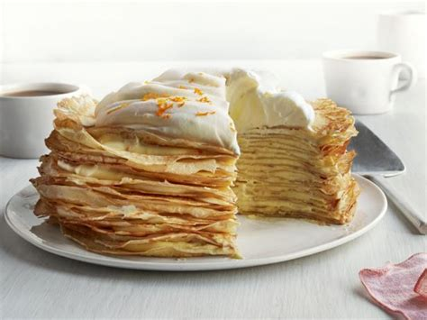 Crepe Kitchen by Creamsicle Crepe Cake Recipe Food Network Kitchen Food