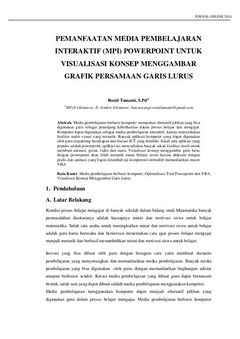 membuat makalah matematika makalah jurnal online p4 tk matematika