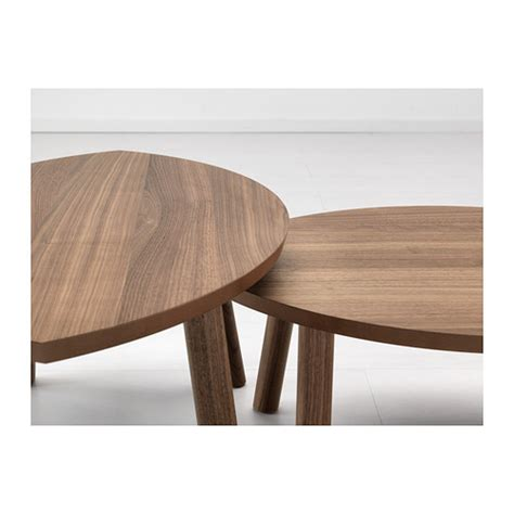 Nest Chair Ikea | stockholm nest of tables set of 2 walnut veneer ikea