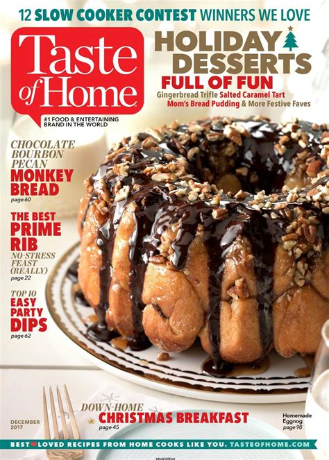 taste of home december 2017 free pdf magazine